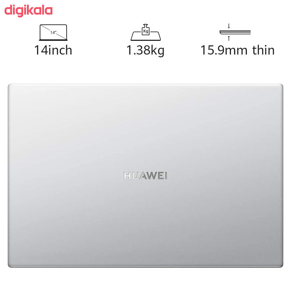 لپ تاپ 14 اینچی هوآوی مدل Matebook D14