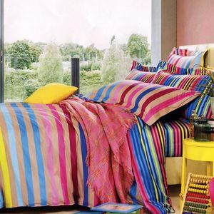 سرویس خواب کارینا مدل Multicolor یک نفره 4 تکه
