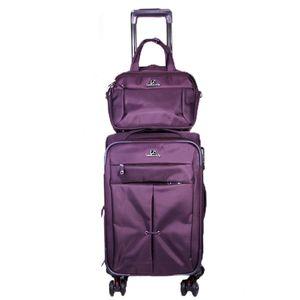 مجموعه دو عددی ساک و چمدان ال سی مدل 11-2-24-4-A173