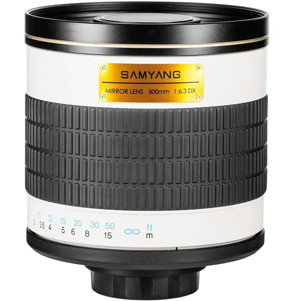 لنز سامیانگ مدل 500mm f/6.3 Mirror Lens