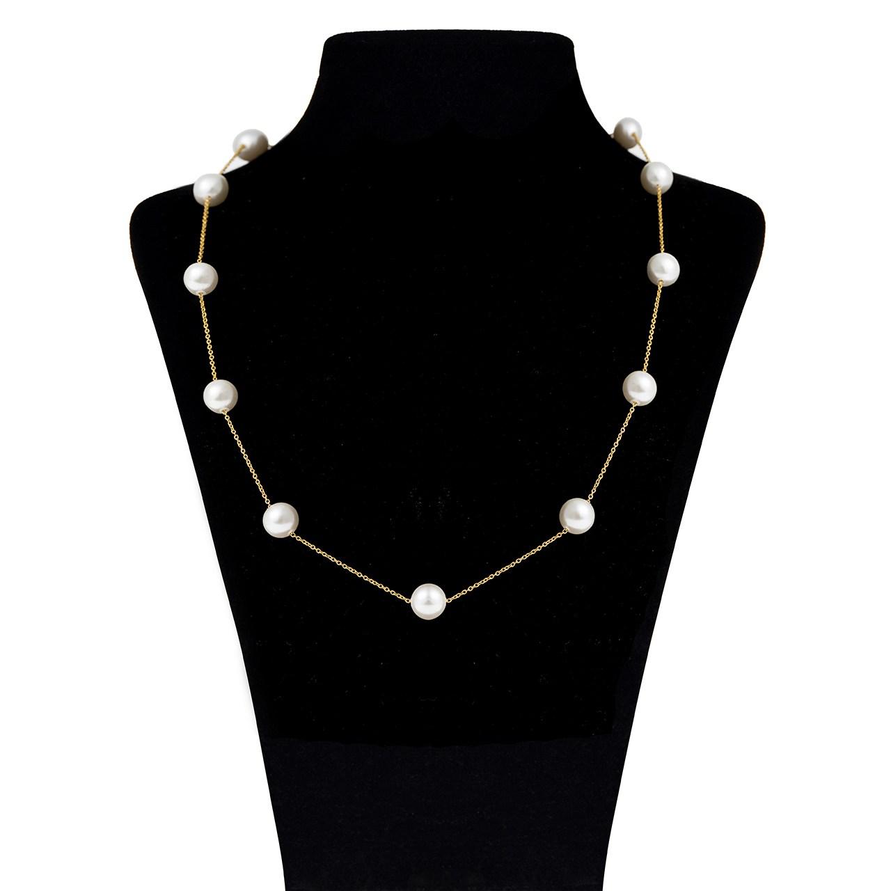 گردنبند طلا 18 عیار ماهک مدل MM0529 - مایا ماهک