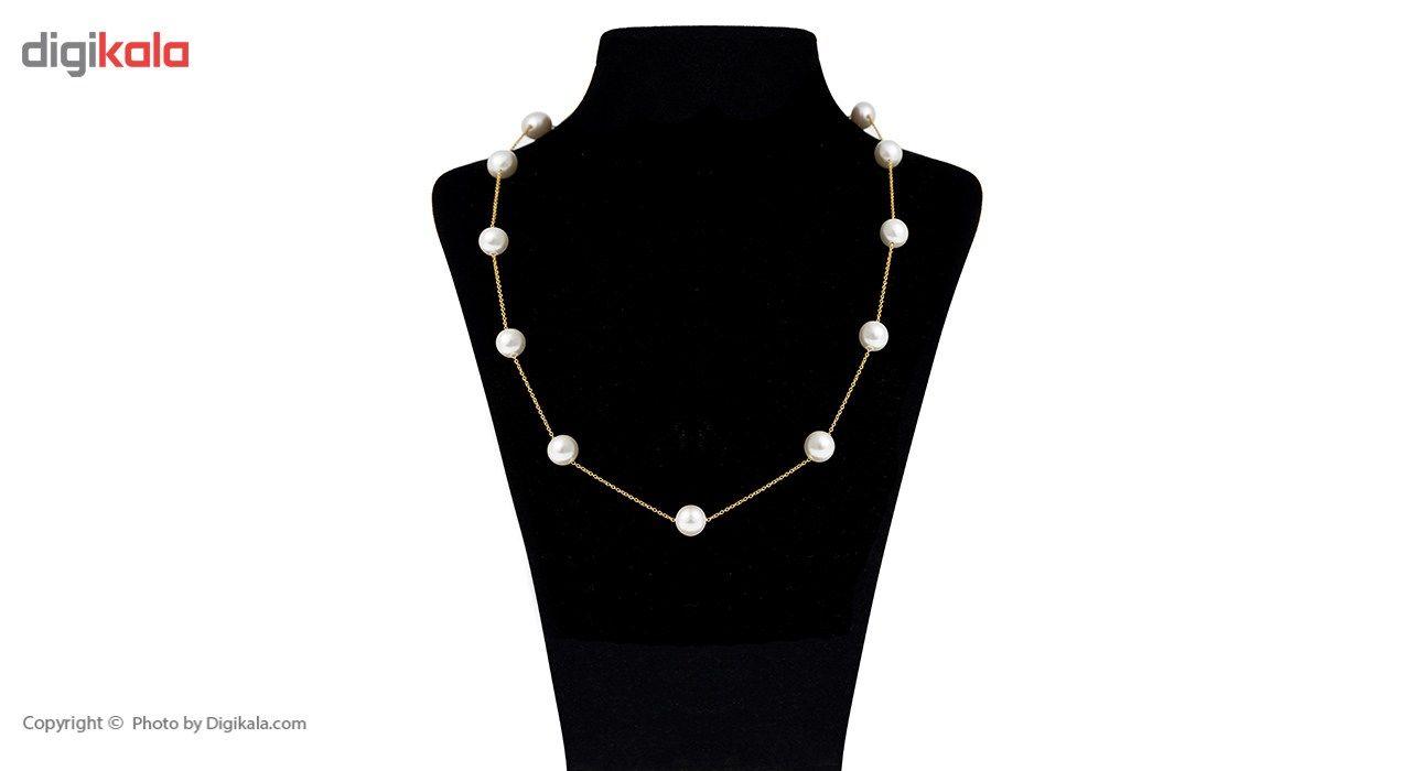 گردنبند طلا 18 عیار ماهک مدل MM0529 - مایا ماهک -  - 2