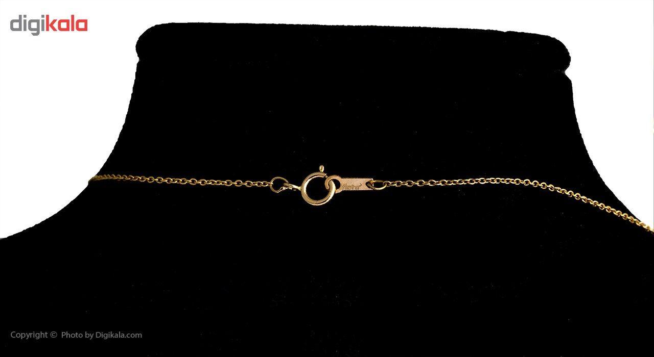 گردنبند طلا 18 عیار ماهک مدل MM0529 - مایا ماهک -  - 1
