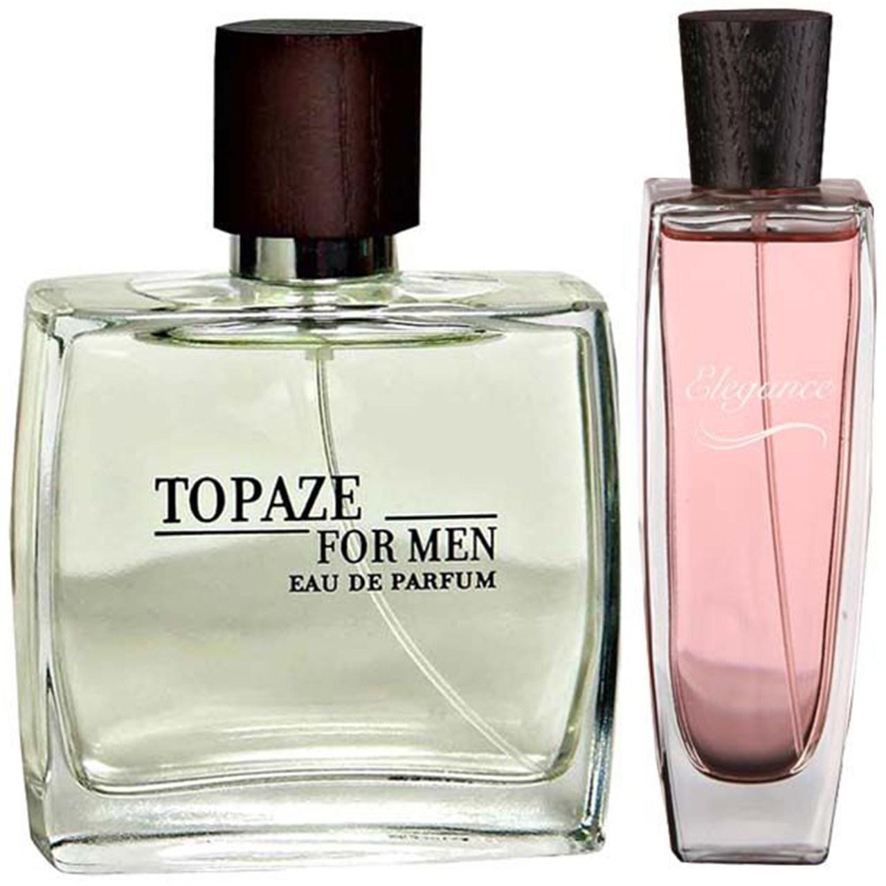 ست ادوپرفیوم مردانه استاویتا مدل Topaze حجم 100 میلی لیتر