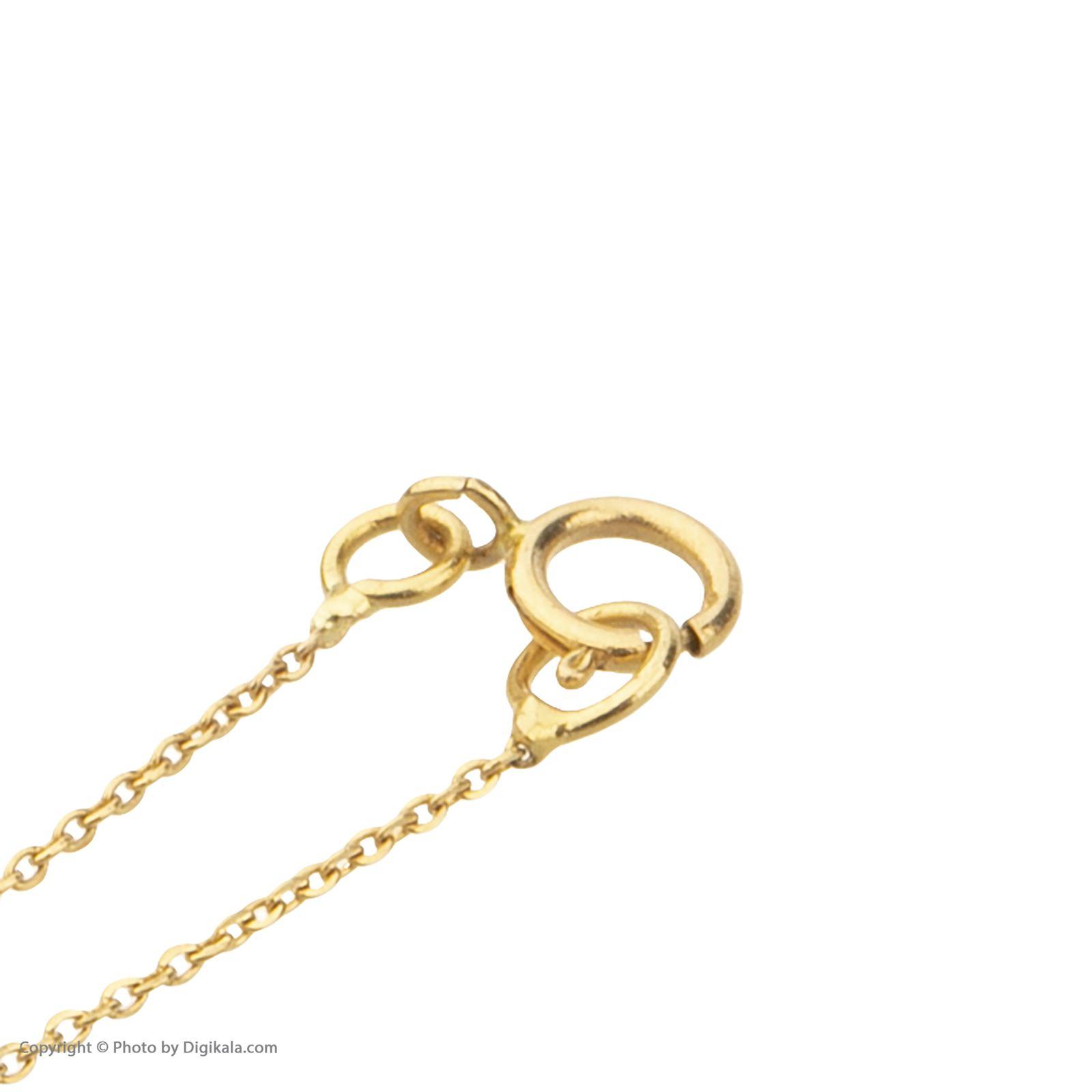 آویز ساعت طلا 18 عیار زنانه میو گلد مدل GD614 -  - 5