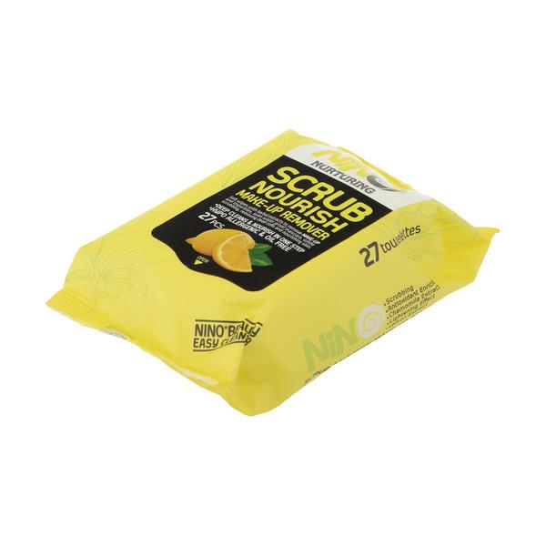 دستمال مرطوب نینو مدل Lemon بسته 27 عددی
