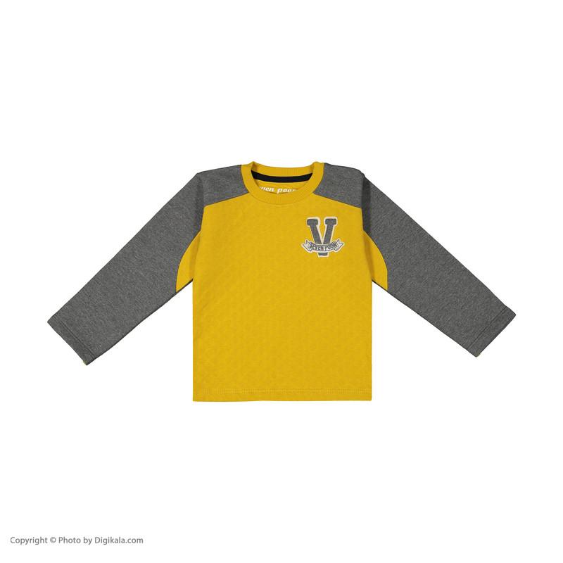 ست تی شرت و شلوار پسرانه سون پون مدل 1391423-90