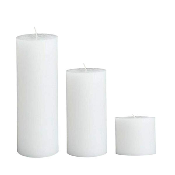 شمع مدل استوانه مجموعه 3 عددی