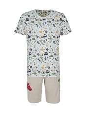 ست تی شرت و شلوارک راحتی مردانه مادر مدل 2041110-07 -  - 1