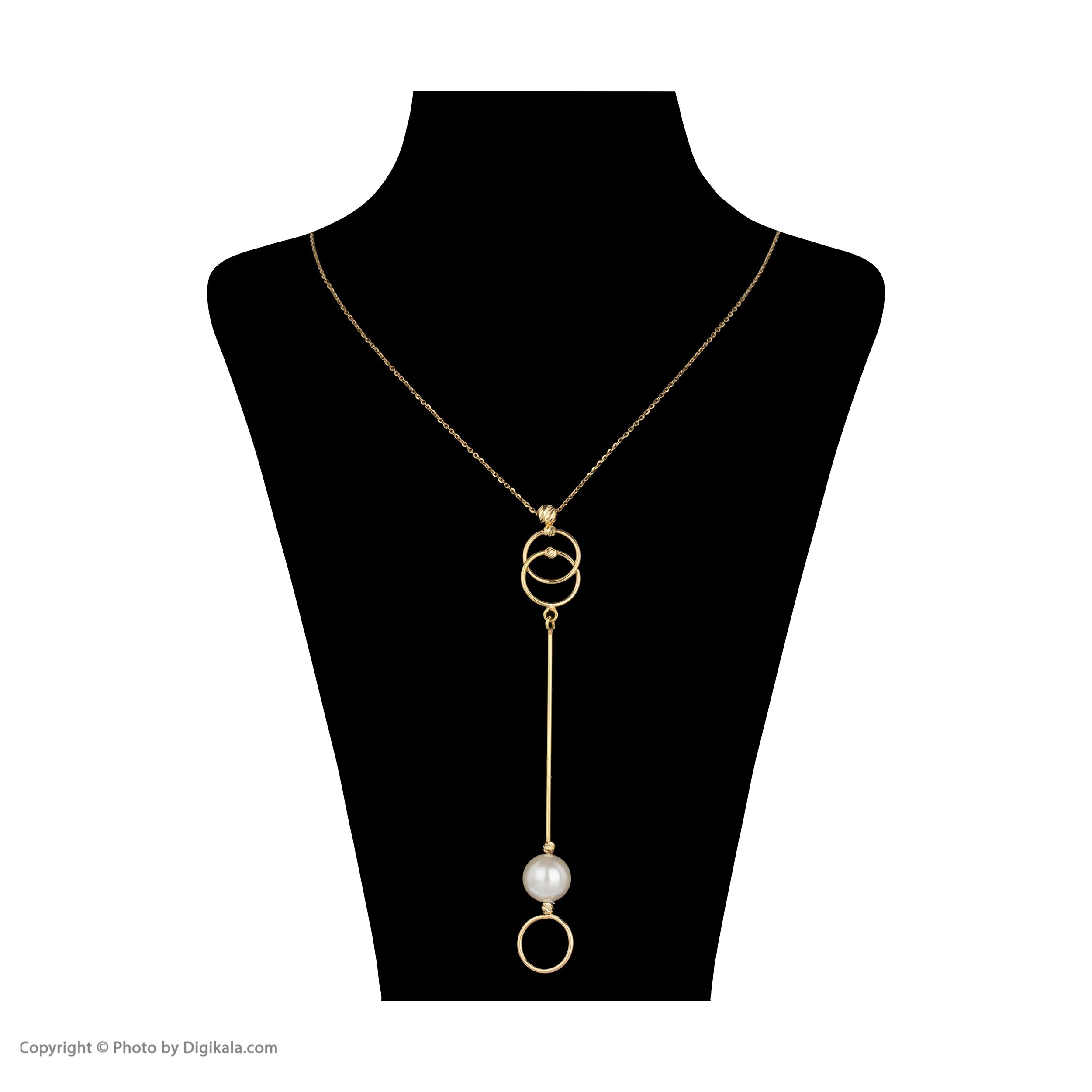 گردنبند طلا 18 عیار زنانه سیودو مدل 147025 -  - 3