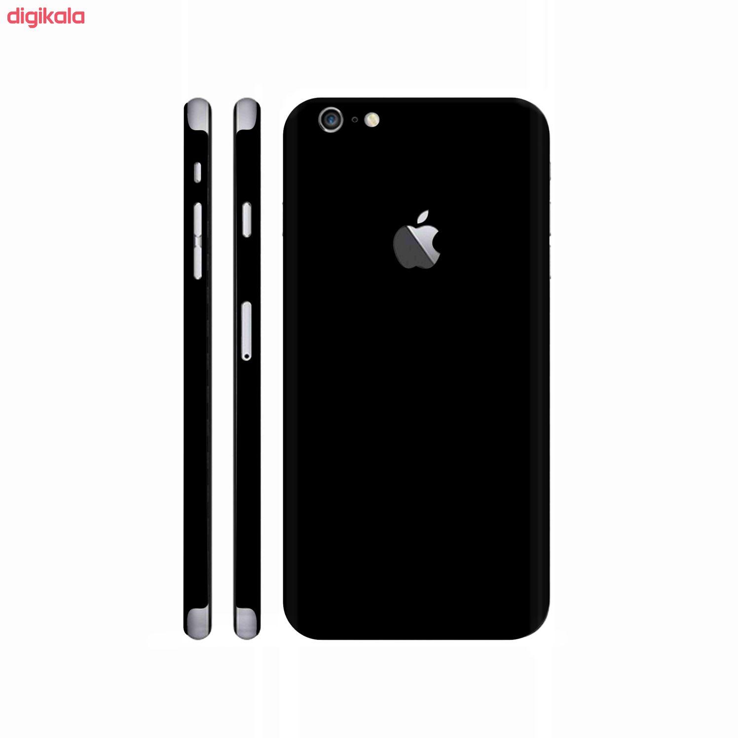 برچسب پوششی مدل Glossy black104 مناسب برای گوشی موبایل اپل Iphone 6/6s main 1 1