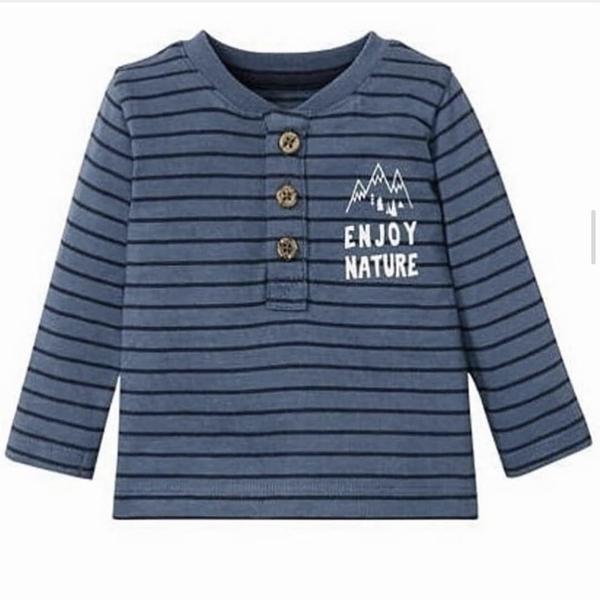 تی شرت آستین بلند نوزادی لوپیلومدل ٠١٢٣