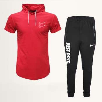 ست تی شرت و شلوار ورزشی مردانه مدل 912020