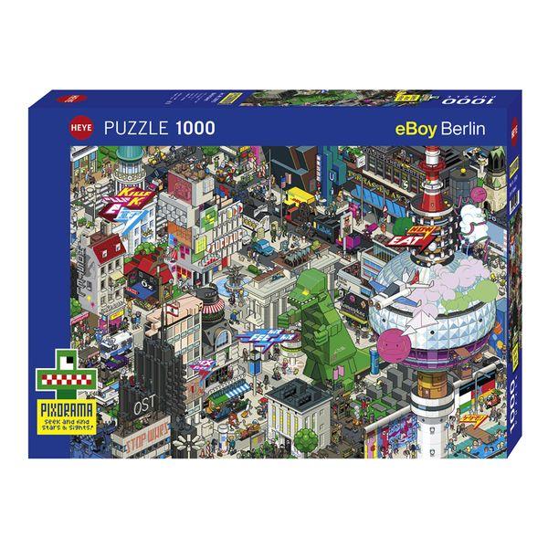 پازل 1000 تکه هه یه مدل Berlin Quest کد 29915