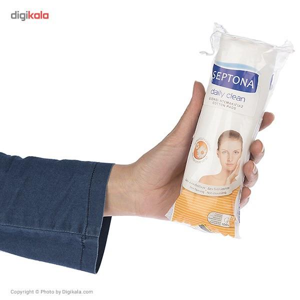 پد آرایشی سپتونا سری Daily Clean با عصاره بابونه بسته 70 عددی