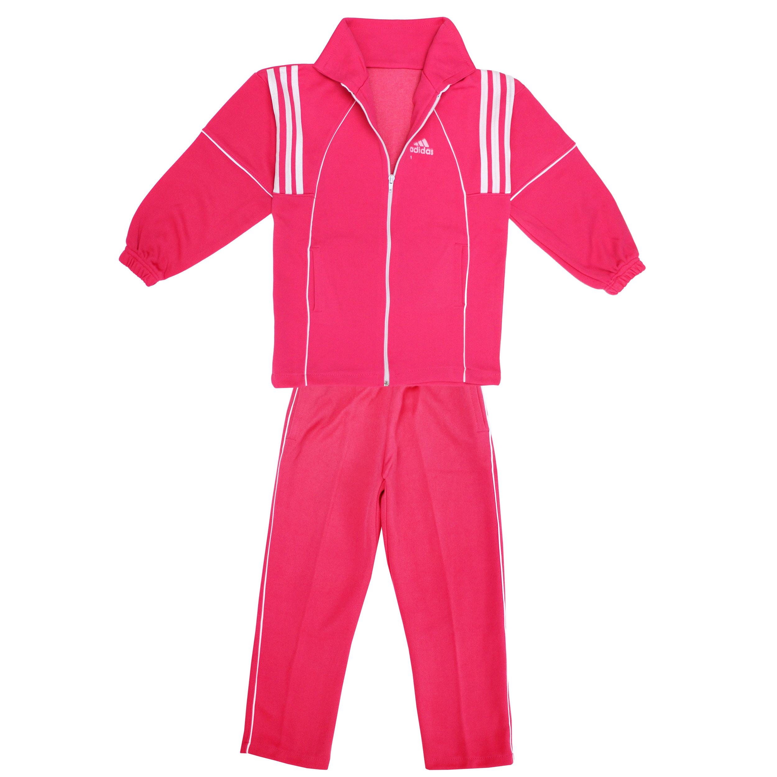 ست سویشرت و شلوار ورزشی دخترانه کد SORKHA12334                     غیر اصل