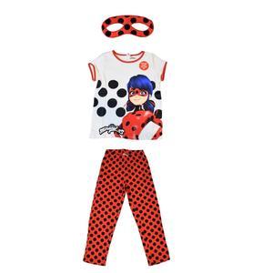 ست 3 تکه لباس دخترانه ال سی وایکیکی مدل دختر کفشدوزکی کد 095
