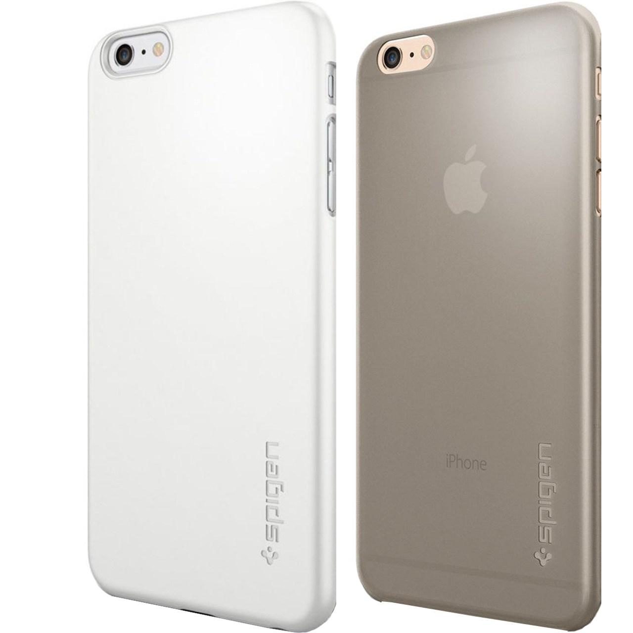 مجموعه کاور و محافظ اسپیگن شماره 8 مناسب برای گوشی موبایل آیفون 6 پلاس6
