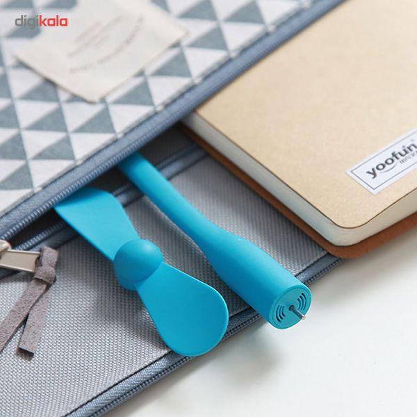 پنکه همراه شیاومی مدل USB Mini main 1 7