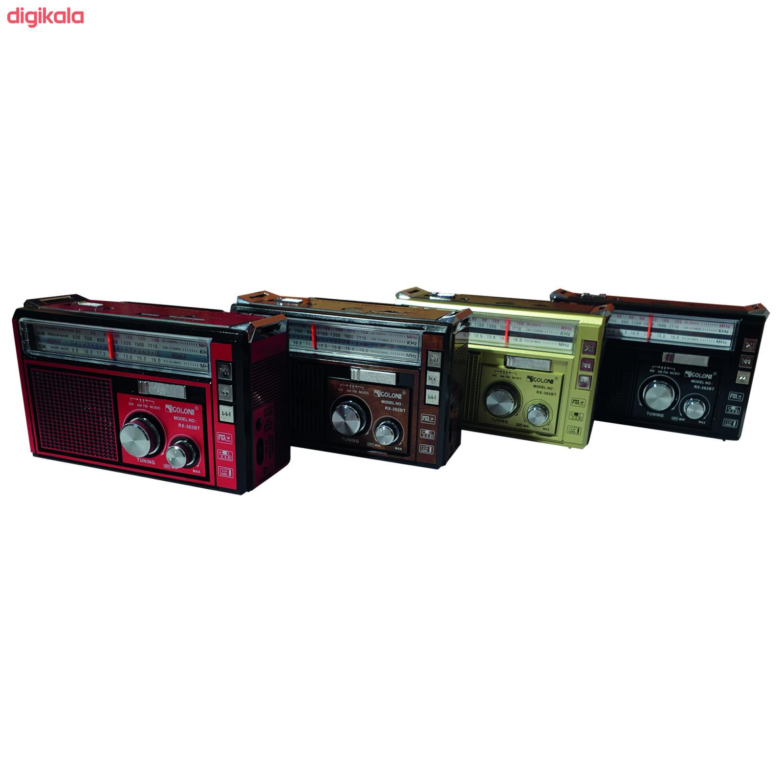 رادیو گولون مدل RX-382BT main 1 14