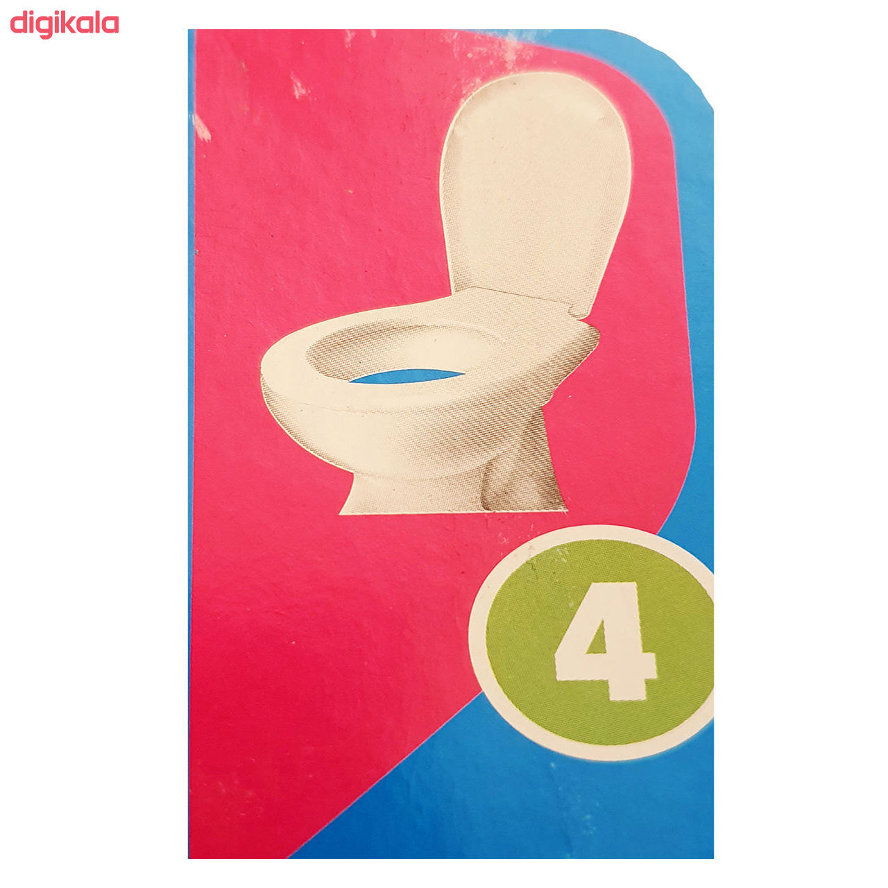 قرص خوشبو کننده توالت فرنگی بلو استار مدل MT-01 بسته 6 عددی main 1 3