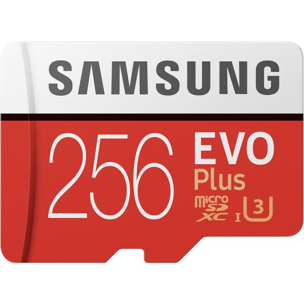 کارت حافظه microSDXC سامسونگ مدل Evo Plus کلاس 10 استاندارد UHS-I U3 سرعت 100MBps ظرفیت 256 گیگابایت