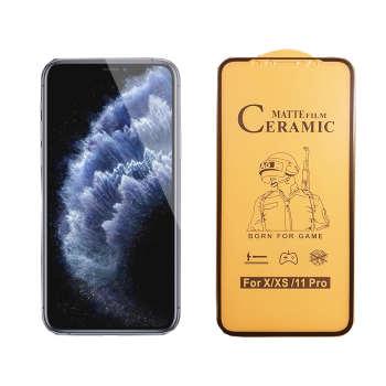 محافظ صفحه نمایش سرامیکی مدل FLCRM01pr مناسب برای گوشی موبایل اپل iPhone 11 Pro