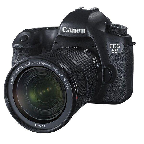 دوربین دیجیتال کانن مدل EOS 6D Kit 24-105mm f/3.5 IS STM