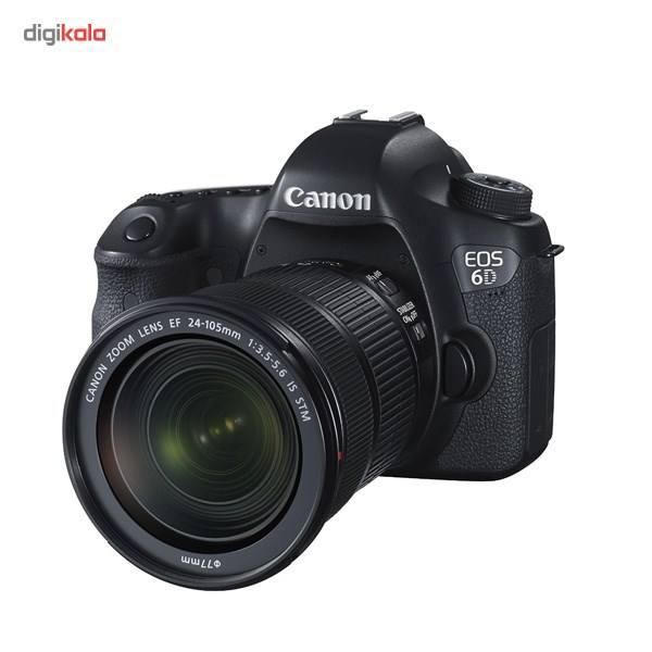 دوربین دیجیتال کانن مدل EOS 6D Kit 24-105mm f/3.5 IS STM main 1 1
