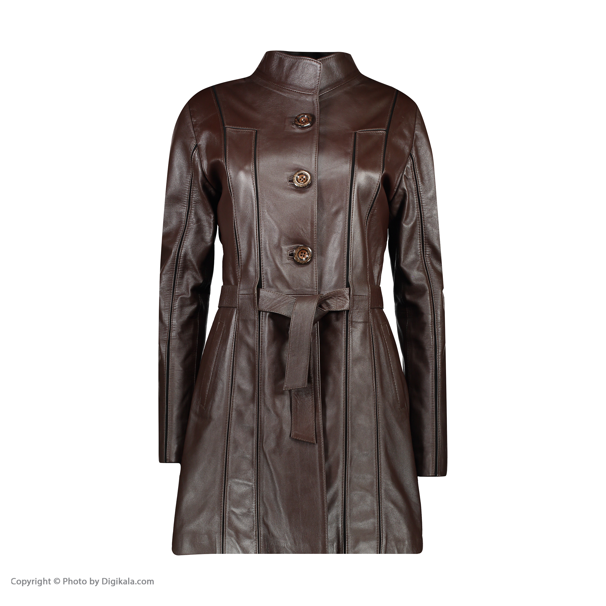 SHIFER WOMEN NATURAL LEATHER RAINCOAT, MODEL 7W51-2