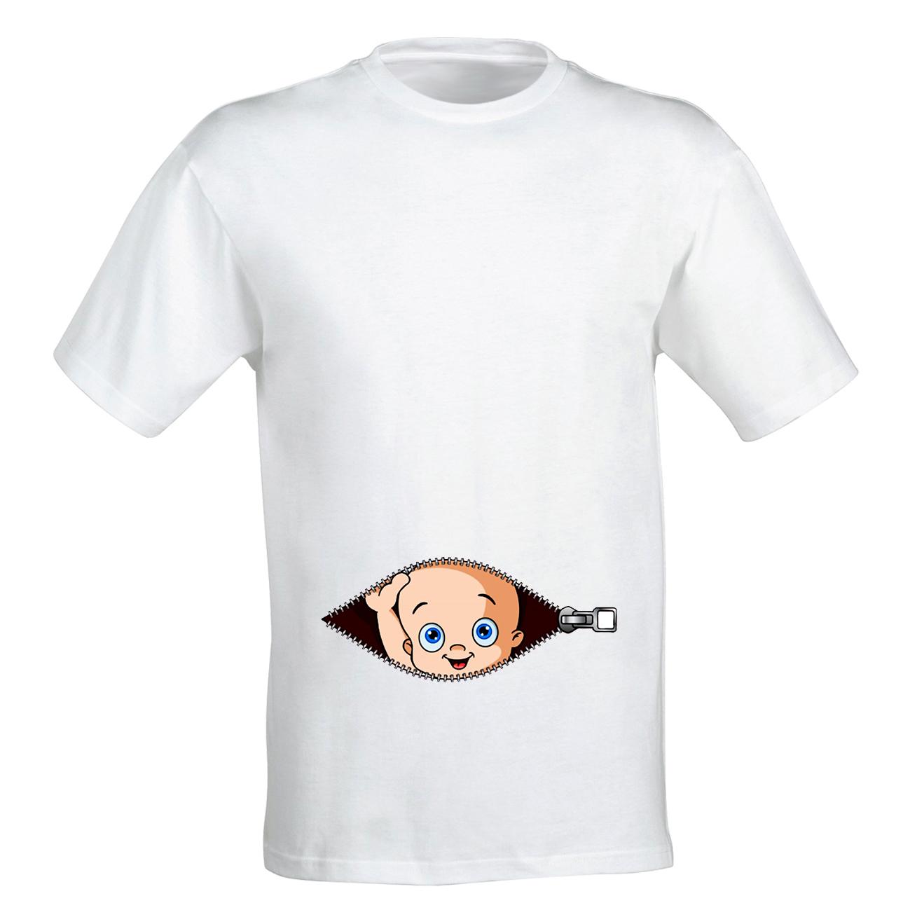 تیشرت بارداری طرح boy کد b13