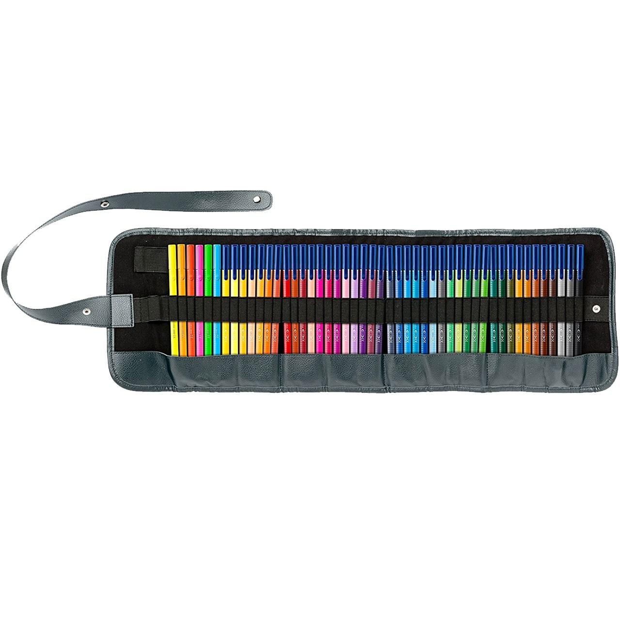 ماژیک رنگ آمیزی 48 رنگ استدلر مدل Triplus Brilliant Colours