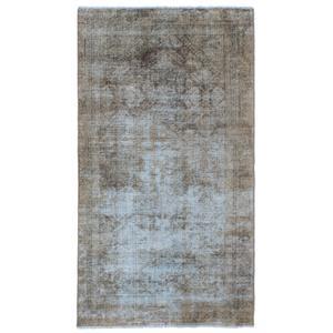 فرش دستبافت رنگ شده دو متری نیروانا کد 11089