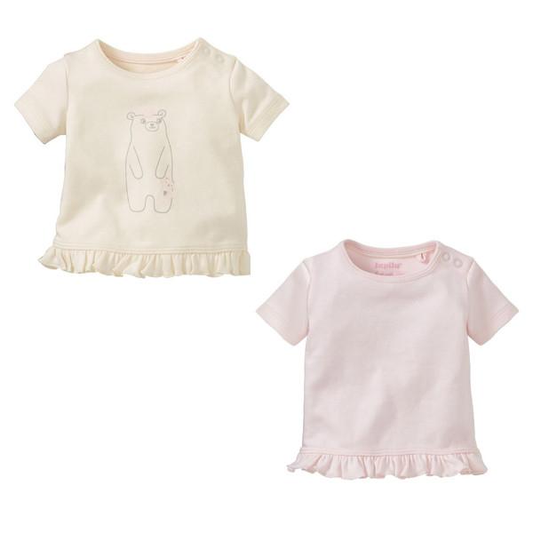 تی شرت دخترانه لوپیلو مدل 39 مجموعه 2 عددی