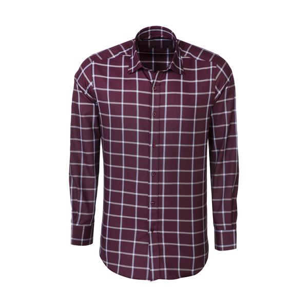 پیراهن آستین بلند مردانه کیکی رایکی مدل MBB2400-028