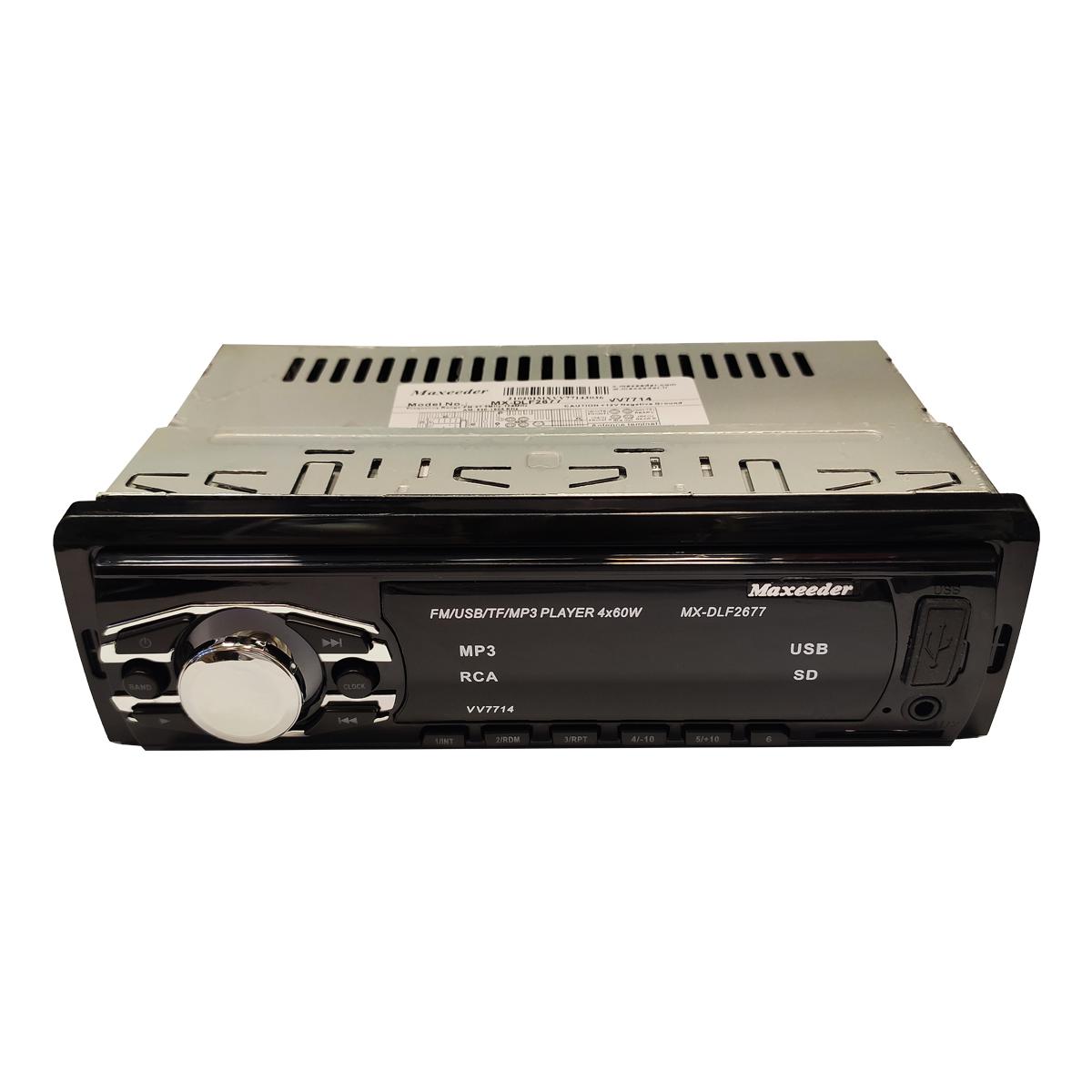 پخش کننده خودرو مکسیدر مدل MX-DLF2677 VV7714