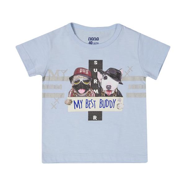 تی شرت پسرانه نونا مدل 2211113-51