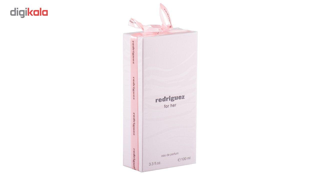 ادو پرفیوم زنانه فراگرنس ورد مدل redriguez For Her حجم 100 میلی لیتر main 1 3