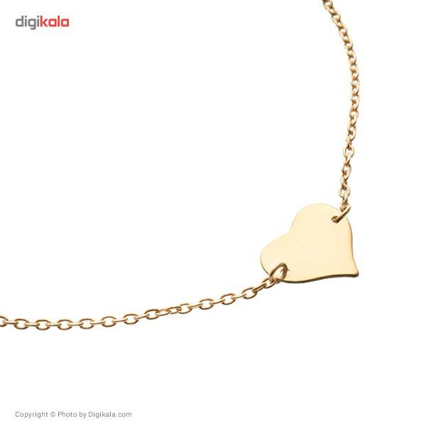 پابند طلا 18 عیار ماهک مدل MA0061 - مایا ماهک -  - 3