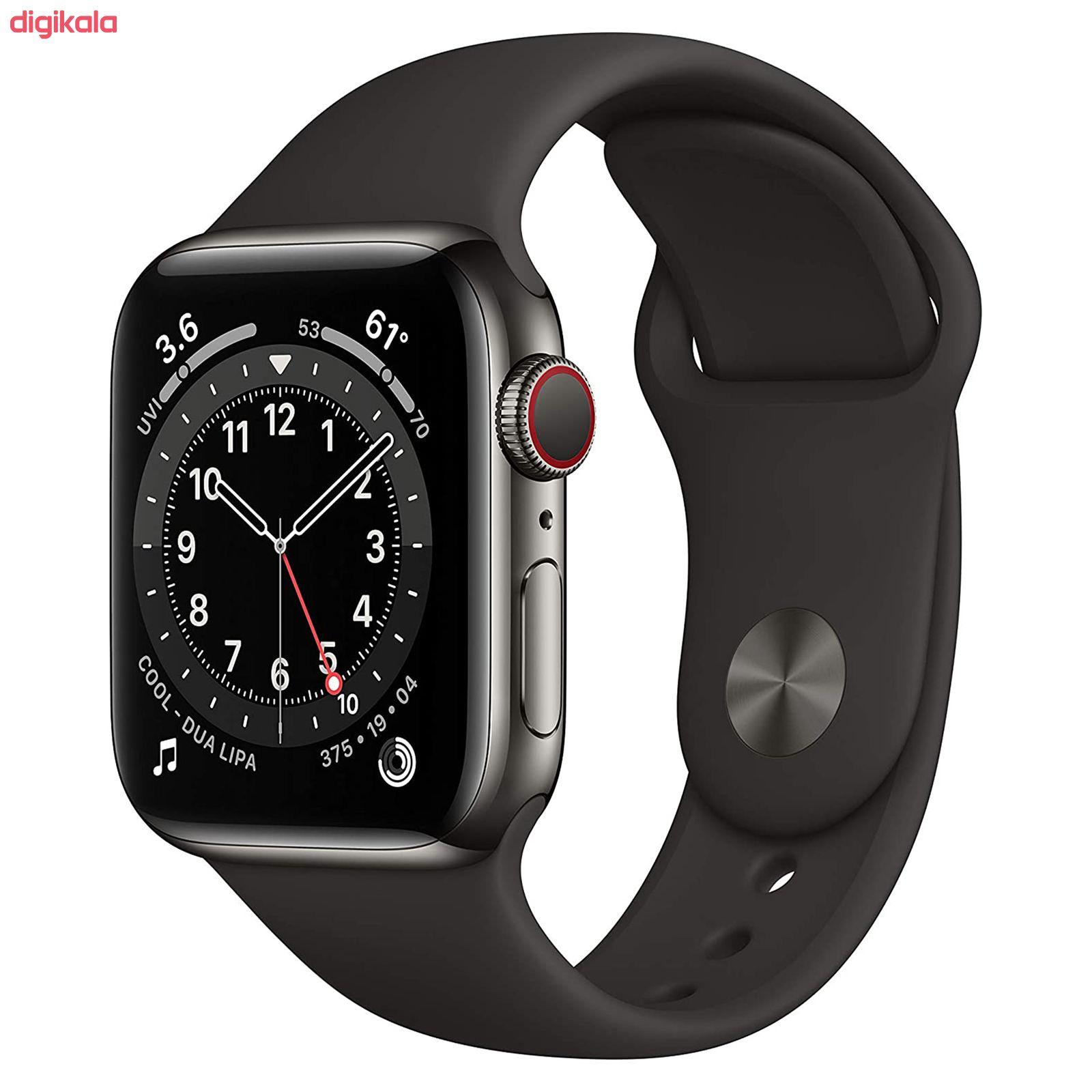ساعت هوشمند اپل سری 6 مدل Aluminum Case 40mm main 1 9