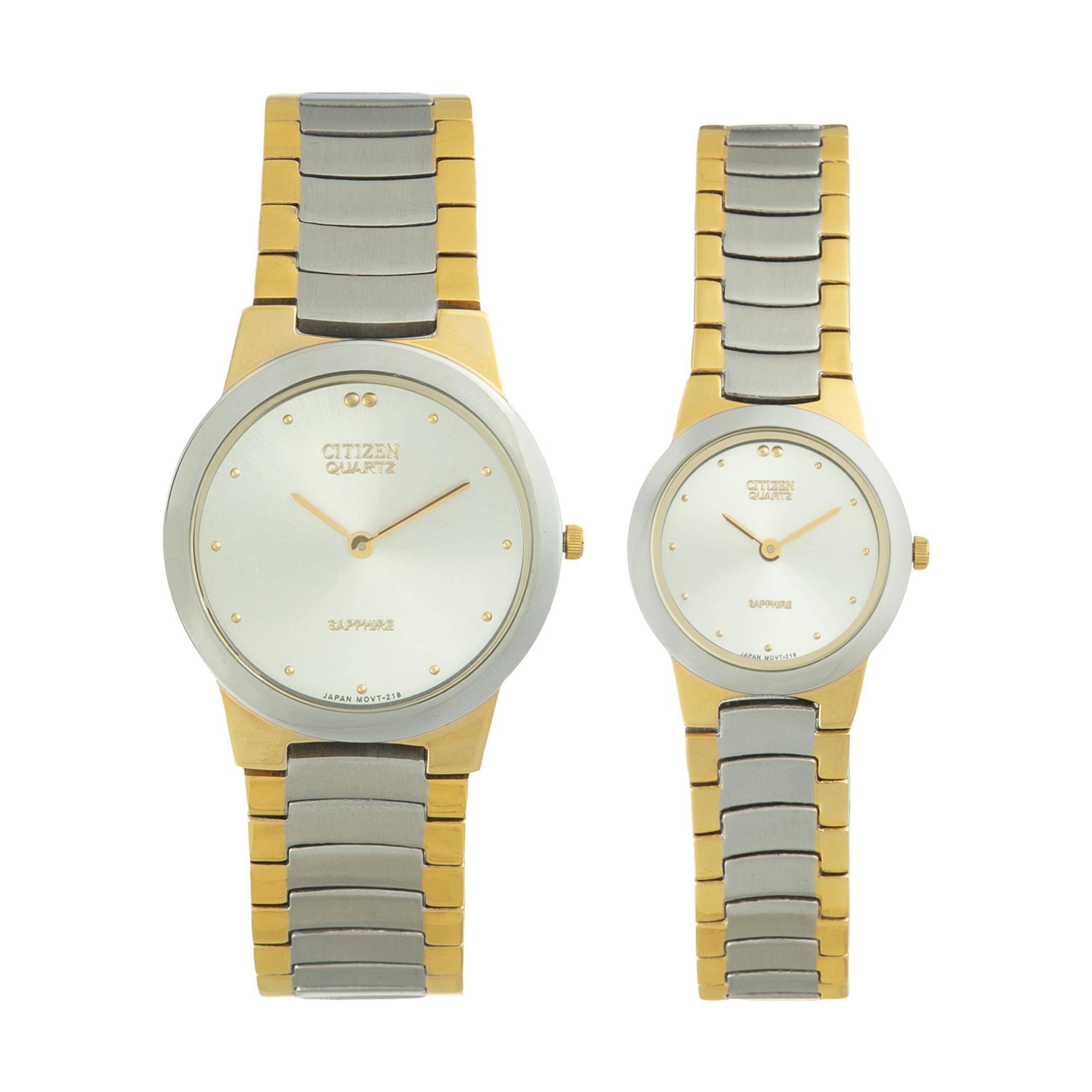 خرید                                      ساعت مچی عقربه ای مردانه و زنانه سیتی زن مدل LD9-88201