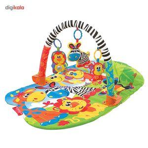 تشک بازی پلی گرو مدل Safari Super  Playgro Safari Super Play Mats