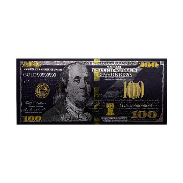 اسکناس تزیینی طرح 100 دلار