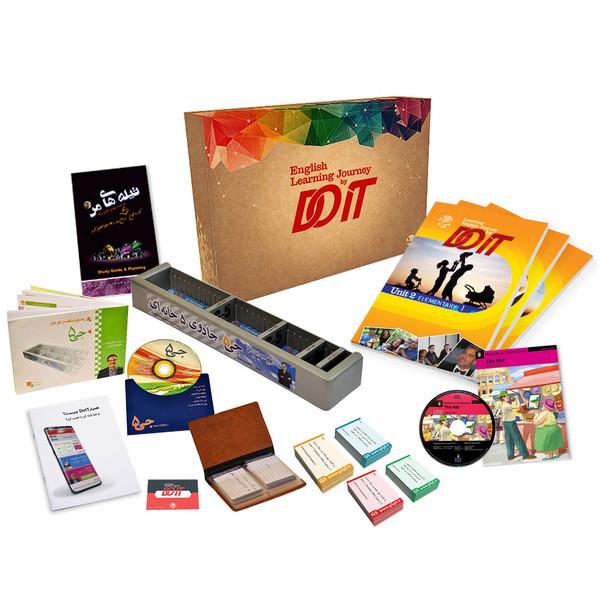 دوره آموزش آنلاین زبان انگلیسی DOIT به همراه فکرافزار جی 5 انتشارات جی 5