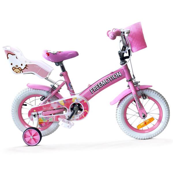 دوچرخه شهری فری موشن مدل Hello Kitty سایز 12 - سایز فریم 12