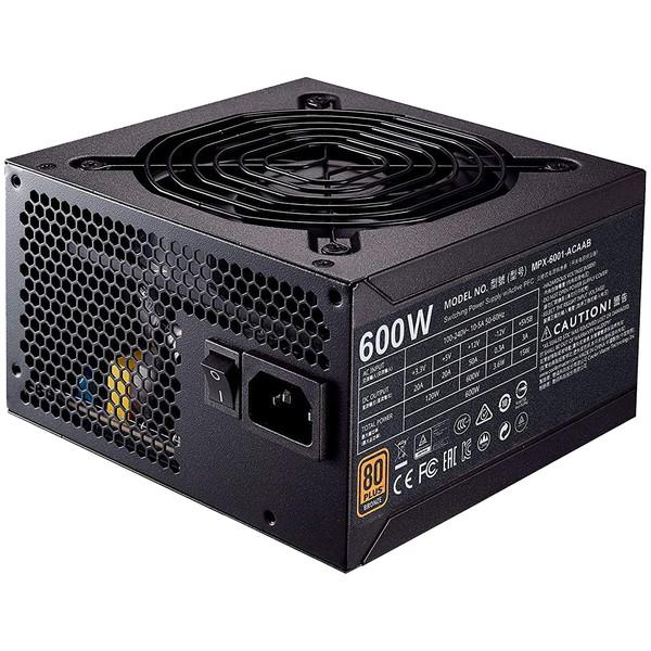 منبع تغذیه کامپیوتر کولر مستر مدل MWE Bronze 600 - V2