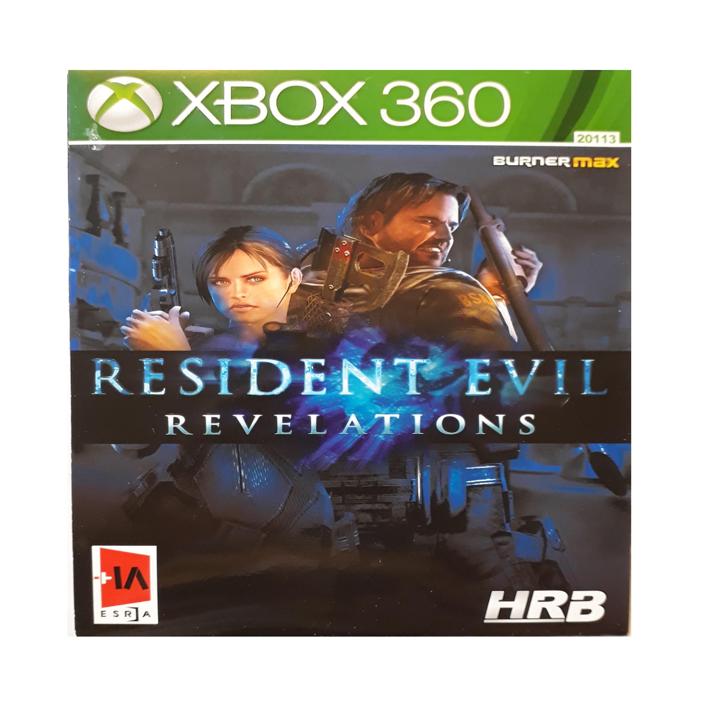 بازی resident evil revelations مخصوص xbox 360 main 1 1