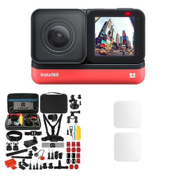 دوربین فیلم برداری ورزشی اینستا 360 مدل ONE R Twin Edition به همراه لوازم جانبی