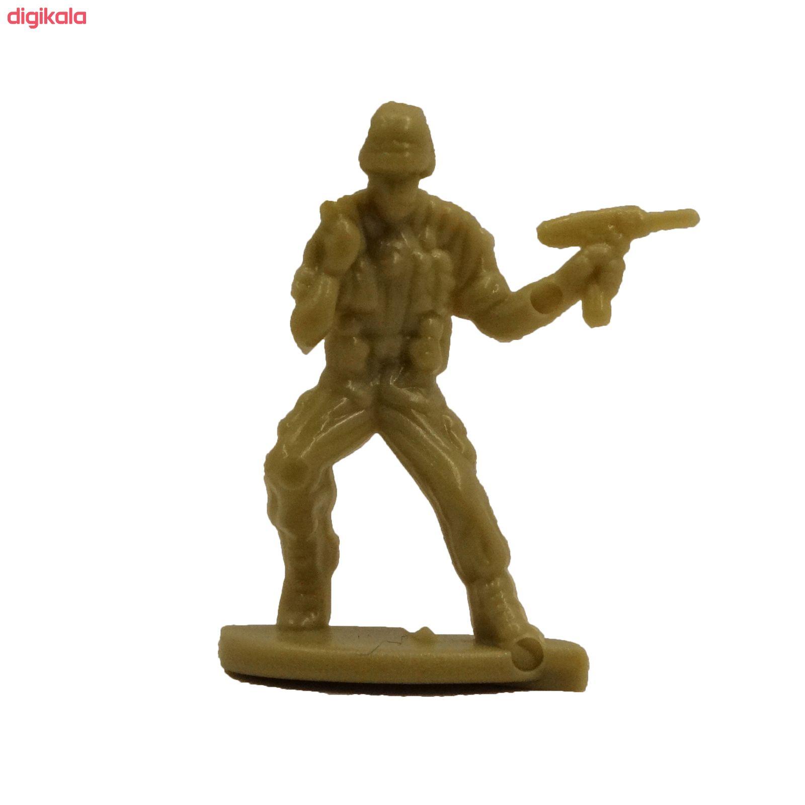 اسباب بازی جنگی مدل پادگان مجموعه 23 عددی main 1 14