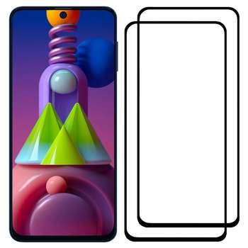 محافظ صفحه نمایش مدل FCG مناسب برای گوشی موبایل سامسونگ Galaxy M51 بسته دو عددی
